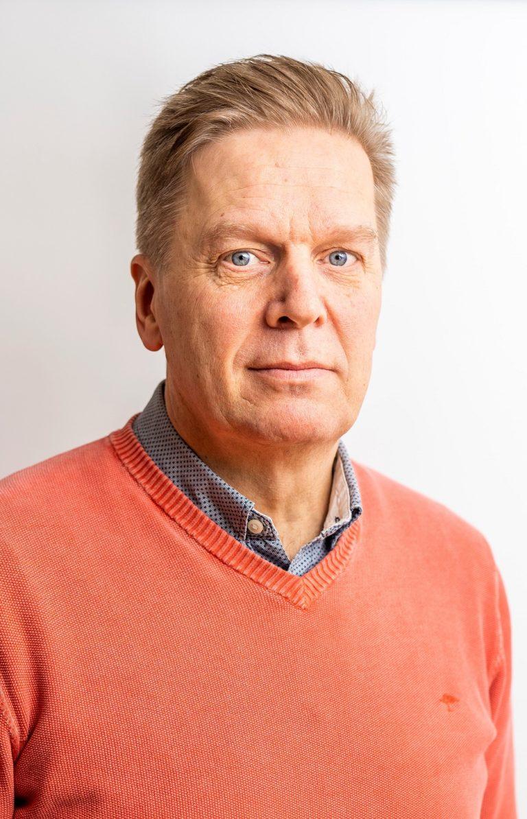 Kiinteistöpäällikkö Lasse Alkula
