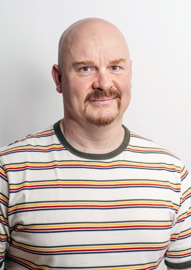 Viestintä- ja markkinointipäällikkö Matti Huhta