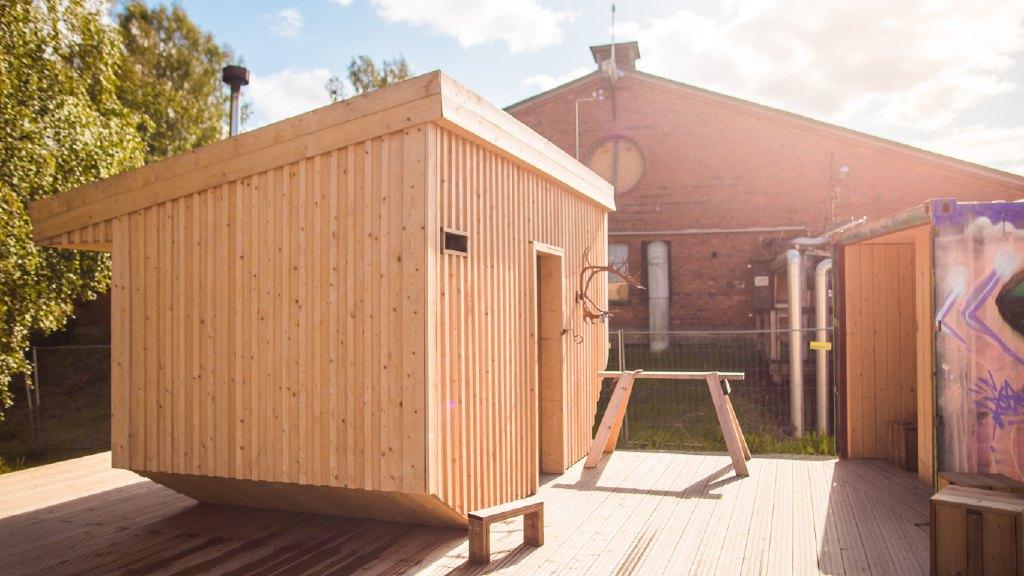 Hiedanrannan yhteisöllinen sauna
